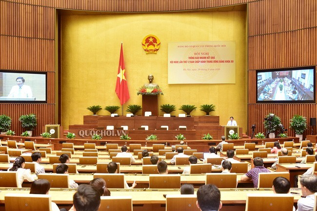 Депутаты парламента одобрили разделение сессии Нацсобрания на две части  - ảnh 1