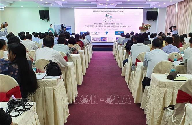 В провинциях Дельты реки Меконг прошёл ряд мероприятий по стимулированию туристической деятельности после пандемии COVID-19   - ảnh 1