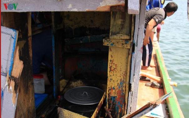 Вьетнам требует от Китая провести расследование по делу рыболовецкого судна под номером QNg 96416 TS в районе архипелага Хоангша - ảnh 1
