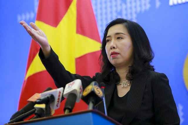 Вьетнам протестует против незаконных военных учений Китая в районе островов Хоангша - ảnh 1