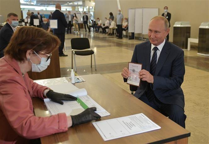 Россия опубликовала итоги голосования по поправкам к Конституации - ảnh 1