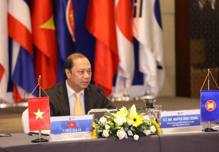 Конференция старших должностных лиц регионального форума АСЕАН (ARF) - ảnh 1