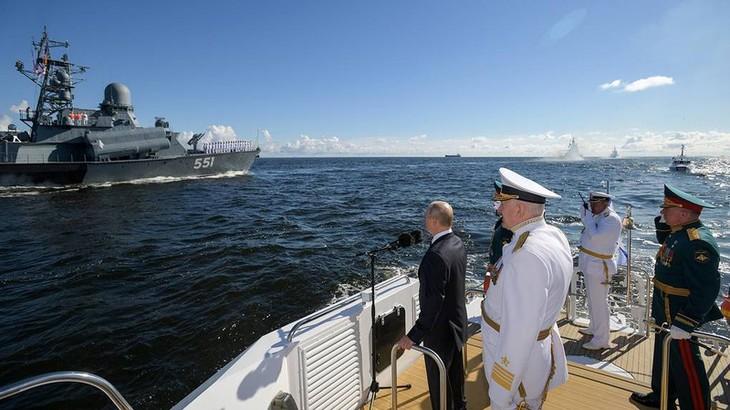 В России отметили День Военно-морского флота - ảnh 1