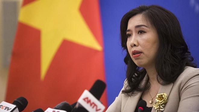 Вьетнам выступает против присутствия китайских боевых самолётов в районе рифа Суби - ảnh 1