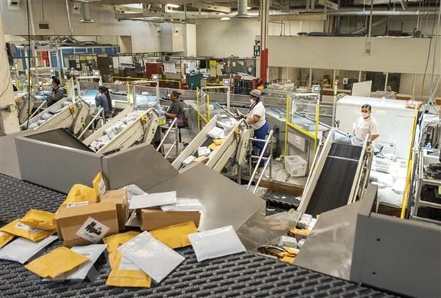 Президентские выборы в США 2020: Спор вокруг услуг Почтовой службы США - ảnh 1