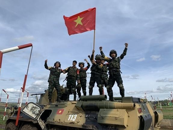 Вьетнамские военнослужащие достигли высоких результатов на Армейских международных играх 2020 - ảnh 1