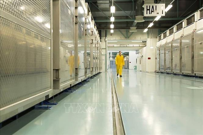 Эксперты МАГАТЭ возьмут пробы ядерного материала на втором объекте в Иране в конце текущего сентября  - ảnh 1