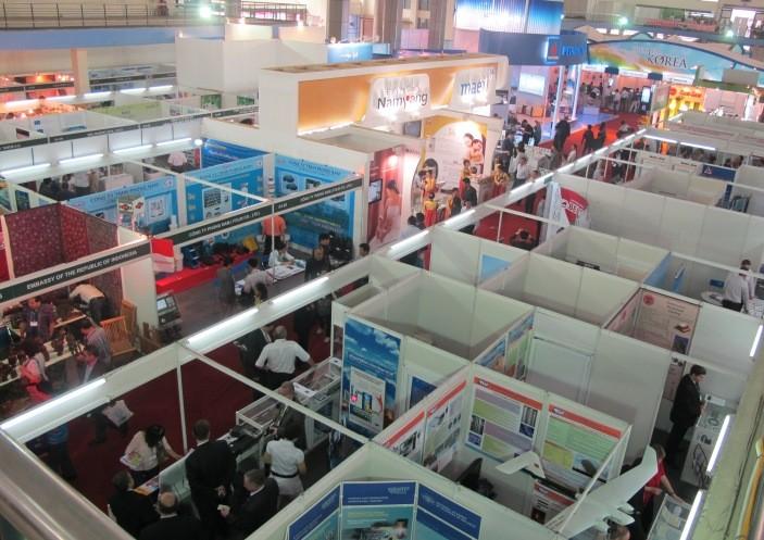 Khai mạc hội chợ thương mại quốc tế Vietnam Expo 2012 - ảnh 2