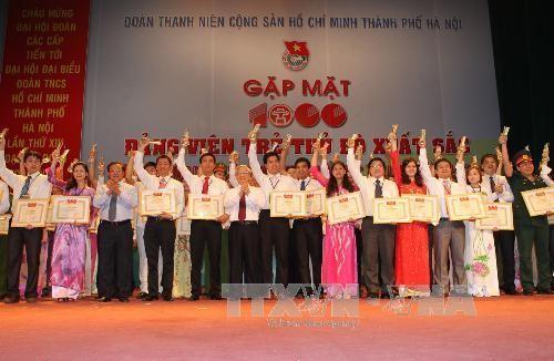 Tổng Bí thư dự Lễ gặp mặt 1.000 đảng viên trẻ tiêu biểu TP Hà Nội  - ảnh 1