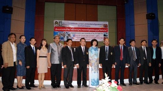 Hội thảo khoa học Thái - Việt về Hiến pháp Việt Nam - ảnh 1