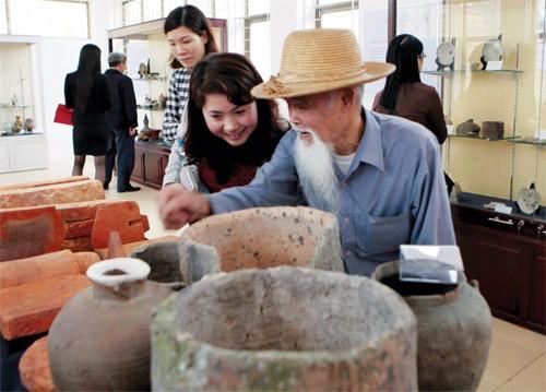 Vinh danh bảo tàng khảo cổ học cộng đồng đầu tiên ở Việt Nam - ảnh 1