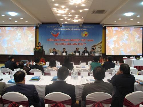 Các hoạt động trước Diễn đàn Doanh nghiệp Việt Nam toàn châu Âu - ảnh 1