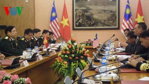 Thúc đẩy hợp tác quốc phòng Việt Nam-Malaysia - ảnh 1