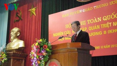 Hội nghị toàn quốc quán triệt triệt Nghị quyết Trung ương 8 khóa XI  - ảnh 1