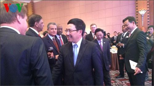 Công tác đối ngoại của Việt Nam trong năm 2013 đạt nhiều thành tựu quan trọng - ảnh 1