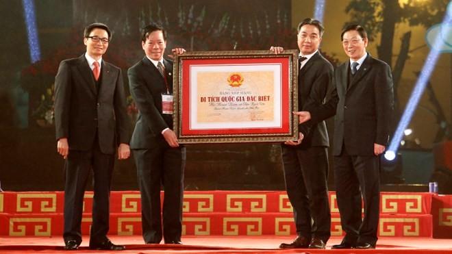 Hà Nội có thêm 5 di tích Quốc gia đặc biệt  - ảnh 1