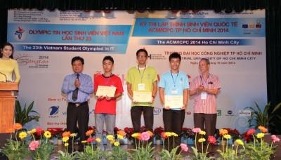 Khai mạc Cuộc thi Olympic Tin học Sinh viên Việt Nam lần thứ 23  - ảnh 1
