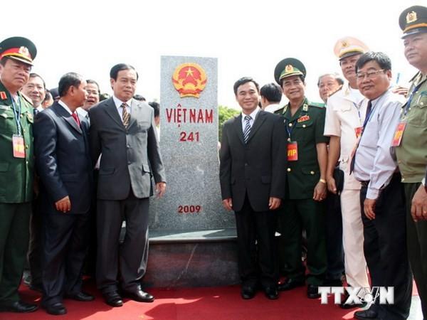 Tọa đàm về tuyên truyền phân giới, cắm mốc Việt Nam-Campuchia - ảnh 1