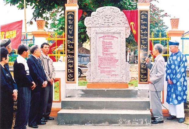Di tích Dinh trấn Thanh Chiêm và sự ra đời của chữ Quốc ngữ - ảnh 2