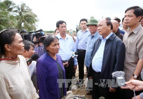 Thủ tướng Nguyễn Xuân Phúc kêu gọi đồng bào, chiến sỹ cả nước chủ động ứng phó với thiên tai - ảnh 1