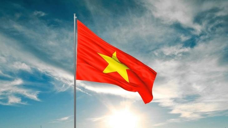 Lá cờ Tổ quốc - ảnh 1