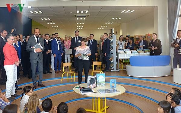 Thủ tướng Pháp Edouard Philippe tham dự lễ khánh thành trường Pháp Alexandre Yersin - ảnh 2