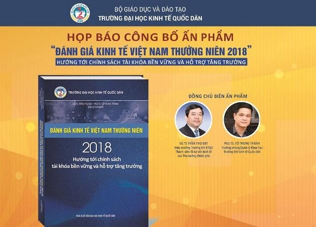 Hội thảo kinh tế Việt Nam 2018, triển vọng 2019 và công bố ấn phẩm đánh giá kinh tế Việt Nam thường niên 2018 - ảnh 1