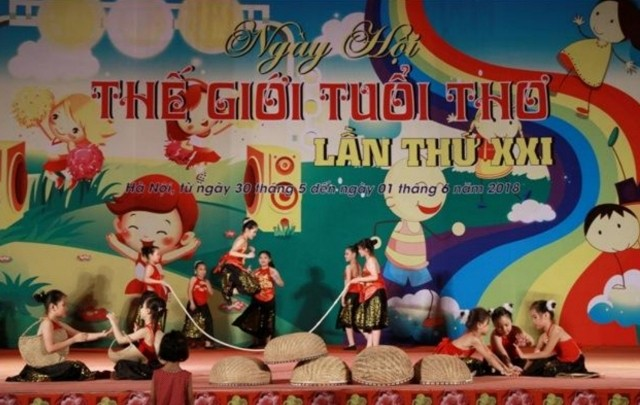 Sôi nổi Ngày hội Thế giới tuổi thơ nhân ngày Quốc tế thiếu nhi - ảnh 1