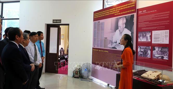 Các hoạt động kỷ niệm 50 năm thực hiện Di chúc Chủ tịch Hồ Chí Minh - ảnh 1