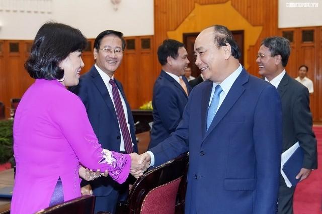 Thủ tướng Nguyễn Xuân Phúc tiếp các Đại sứ Việt Nam tại các nước lên đường nhận nhiệm vụ - ảnh 1