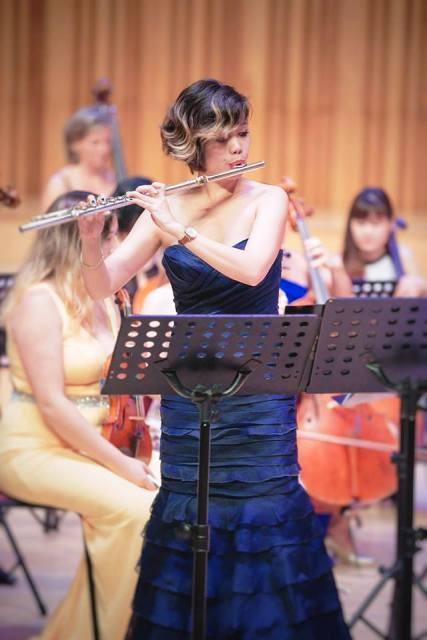 Nghệ sĩ sáo flute Lê Thư Hương giành giải cao nhất của cuộc thi uy tín quốc tế - ảnh 2