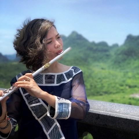 Nghệ sĩ sáo flute Lê Thư Hương giành giải cao nhất của cuộc thi uy tín quốc tế - ảnh 1