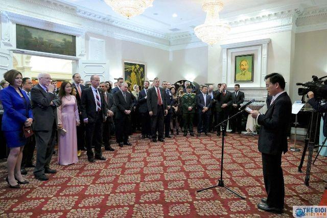 Khởi động các hoạt động kỷ niệm 25 năm quan hệ ngoại giao Việt Nam-Hoa Kỳ - ảnh 1
