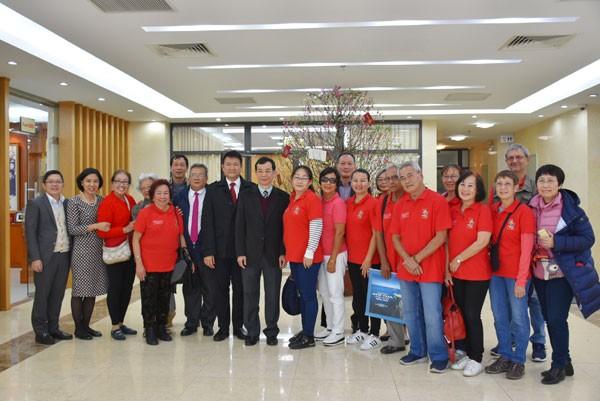 Lãnh đạo Ủy ban Nhà nước về người Việt Nam ở nước ngoài tiếp đoàn kiều bào New Caledonia - ảnh 2