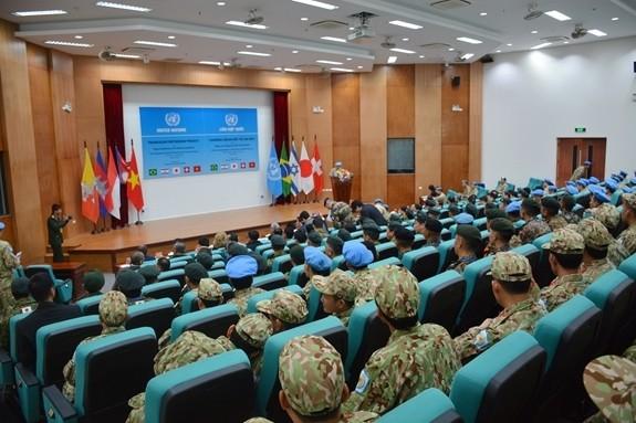 Việt Nam tích cực chuẩn bị tham gia lực lượng gìn giữ hòa bình Liên hợp quốc - ảnh 1