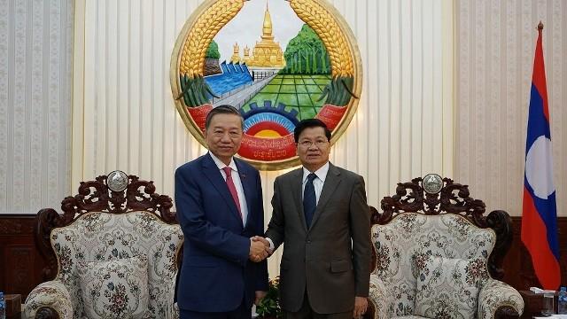 Việt Nam và Lào tăng cường hợp tác an ninh - ảnh 1