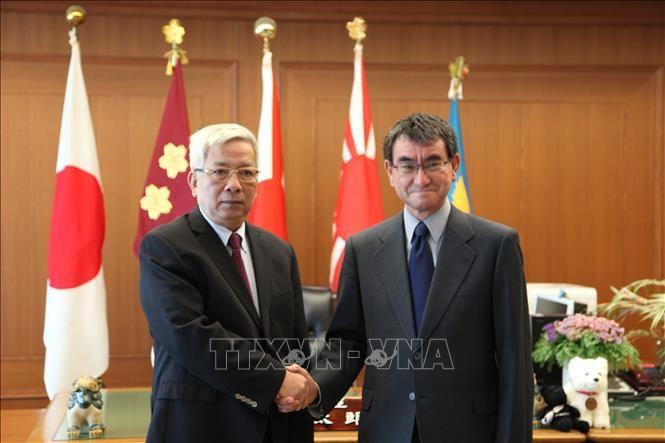 Tham vấn quốc phòng Việt Nam-Nhật Bản chuẩn bị cho Năm ASEAN 2020 - ảnh 1