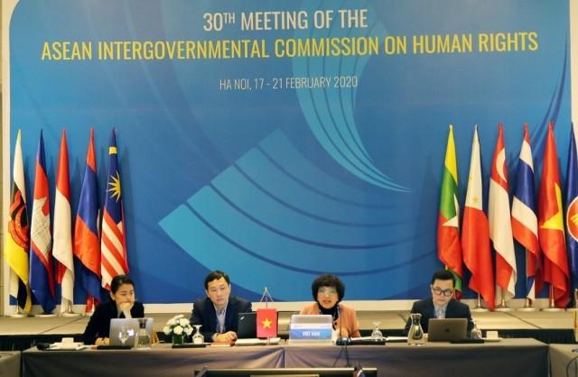 Cuộc họp Uỷ ban liên Chính phủ ASEAN về Nhân quyền lần thứ 30  - ảnh 1