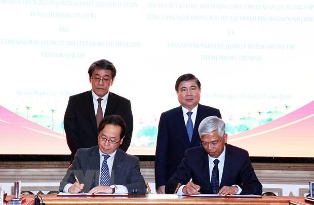 Nhật Bản hỗ trợ Thành phố Hồ Chí Minh phát triển hạ tầng đô thị - ảnh 1