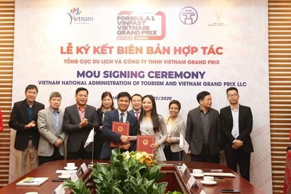 Hợp tác quảng bá, xúc tiến du lịch Việt Nam gắn với giải đua F1 - ảnh 1