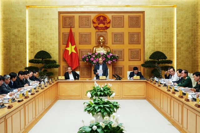 Thường trực Chính phủ họp về phòng chống dịch Covid-19 - ảnh 1