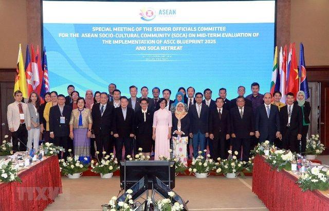 Hội nghị quan chức cấp cao phụ trách cộng đồng văn hóa - xã hội ASEAN - ảnh 1