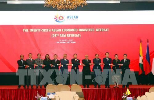 Tuyên bố chung tại hội nghị Bộ trưởng Kinh tế ASEAN (AEM) hẹp lần thứ 26 - ảnh 1