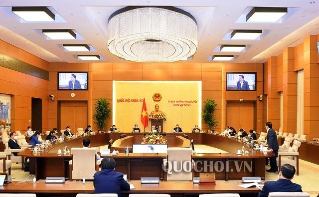 Ủy ban Thường vụ Quốc hội cho ý kiến dự án Luật Đầu tư theo phương thức đối tác công-tư - ảnh 1