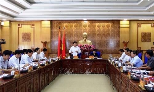 Đoàn công tác Ban Bí thư Trung ương Đảng làm việc với tỉnh Lai Châu  - ảnh 1