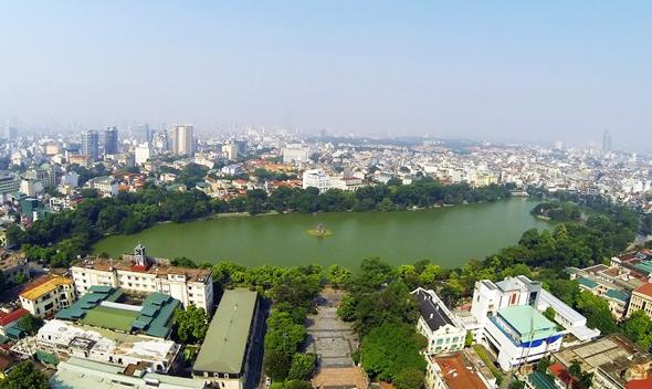 Chất lượng không khí ở nhiều đô thị được cải thiện rõ trong tháng 5 - ảnh 1