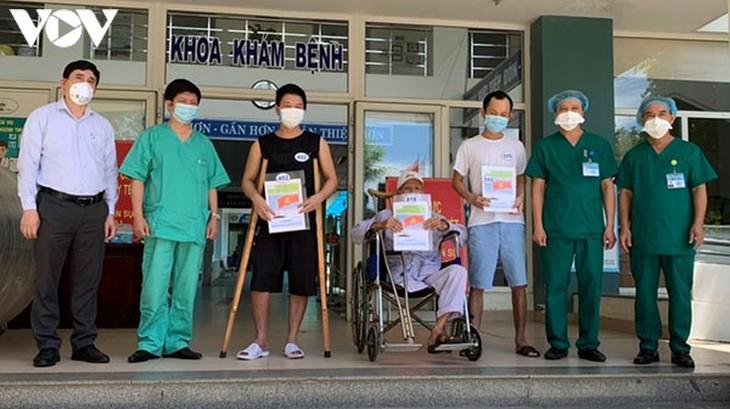 Đà Nẵng có thêm 9 bệnh nhân Covid-19 được xuất viện - ảnh 1