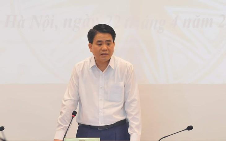 """Khởi tố bị can, bắt tạm giam đối với ông Nguyễn Đức Chung về hành vi """"Chiếm đoạt tài liệu bí mật nhà nước"""" - ảnh 1"""