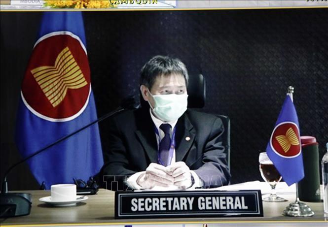 Họp tham vấn trực tuyến về xây dựng bản sắc ASEAN - ảnh 1