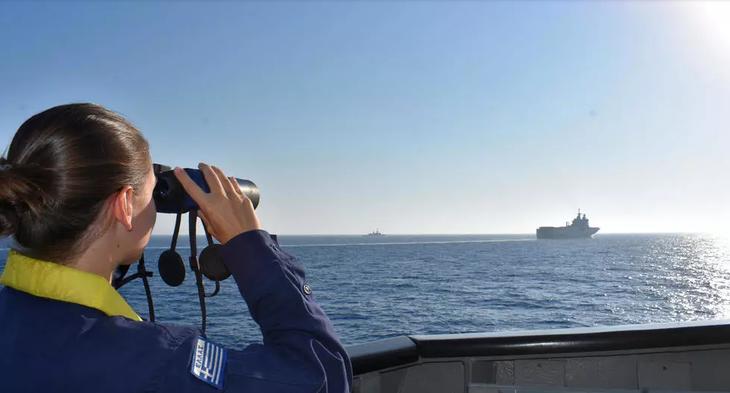 Địa Trung Hải: cuộc cạnh tranh đa phương phức tạp - ảnh 1